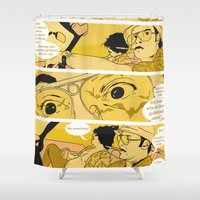 Holy Jesus, What Are The… Shower Curtain