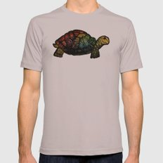 Turtle Glow Mens Fitted Tee Cinder SMALL