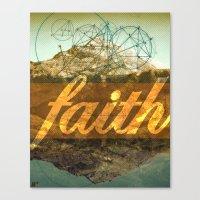 FAITH (1 Corinthians 13:13) Canvas Print