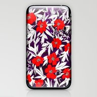 Royal Peony iPhone & iPod Skin