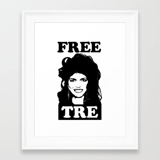 FREE TRE Framed Art Print