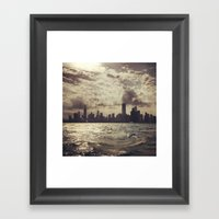 Lake View Chicago Framed Art Print