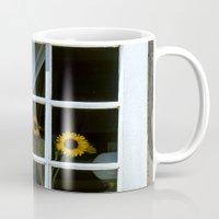 Three Sunflowers Mug