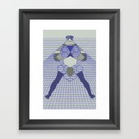 The Hanging Legs  Framed Art Print