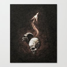 I Have Killed You So That You May Have Overflowing Life Canvas Print