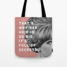 Full Of Secrets Tote Bag