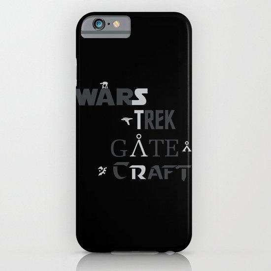 Geek All Stars iPhone & iPod Case