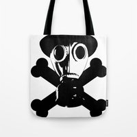 Man in the Mask Tote Bag
