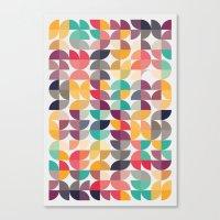 Talk Talk Canvas Print