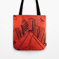 Crayliens Tote Bag
