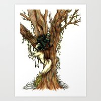 Elemental Series - Earth Art Print