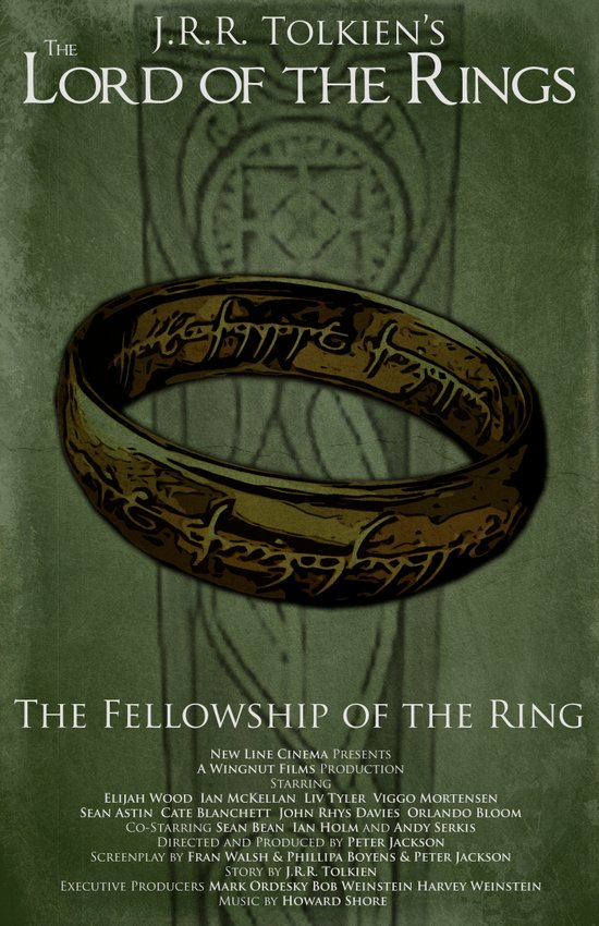 Lord of the Rings - Fellowship of the Ring Art Print