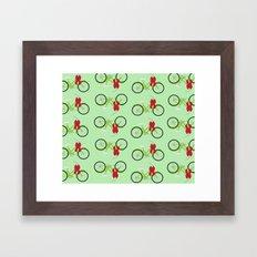 Christmas Wrapping Framed Art Print