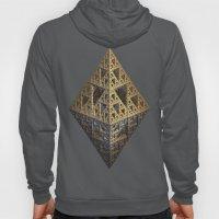 multi triangle Hoody
