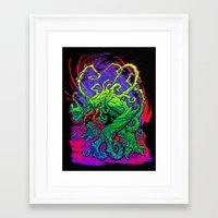 RISE, TENDRIL, RISE! Framed Art Print