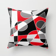 Abstract #101 Throw Pillow