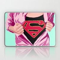 Girl, You're Super Laptop & iPad Skin
