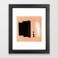 Shades Of Black Framed Art Print