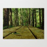 plank Canvas Print