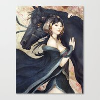 Pepper Empress Canvas Print