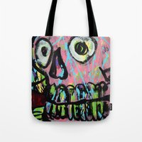 King Skull 2 Tote Bag