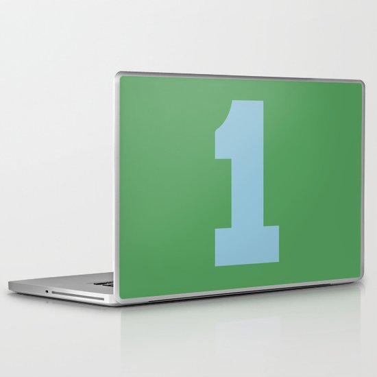 Number 1 Laptop & iPad Skin