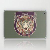 foolish medusa (green) Laptop & iPad Skin