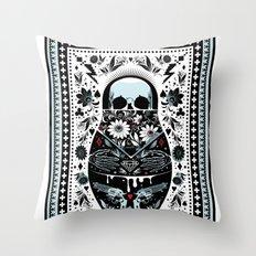 Russian Doll Throw Pillow