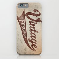 iPhone & iPod Case featuring Vintage Forever by alfboc