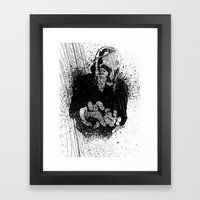 The Gladiator Framed Art Print