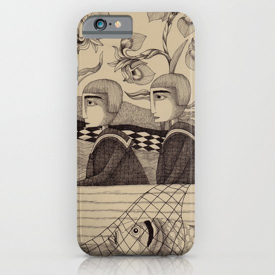 The Golden Fish (2) iPhone & iPod Case