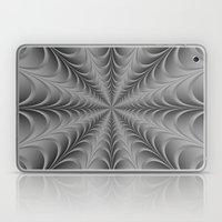 Silver Web Laptop & iPad Skin