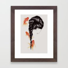 Hair Sequel III Framed Art Print