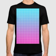 Gradient Mens Fitted Tee Black SMALL