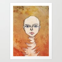 Into the Fire Art Print