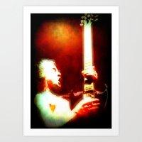 AC/DC Angus Young Art Print