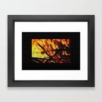 FIRE UP YOUR ENGINE Framed Art Print