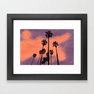 Framed Art Print featuring Summertime by Fernanda S.