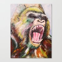 Unleashed  Canvas Print