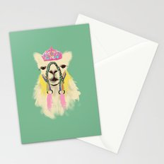 Llama drama queen Stationery Cards
