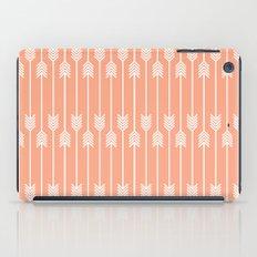 Peach and White Arrows /// www.pencilmeinstationery.com iPad Case