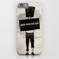 Need Food For Life iPhone 6 Slim Case