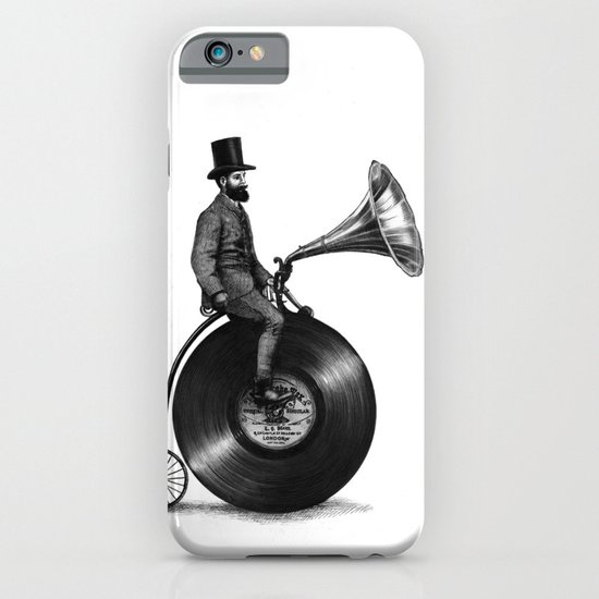 Music Man (monochrome option) iPhone & iPod Case