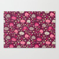 Fancy Floral Canvas Print