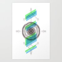 B.G Geo Art Print