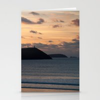 Evening Skies Over Polze… Stationery Cards