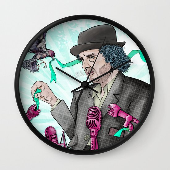 I'm Exhausted from Trying to Believe Unbelievable Things Wall Clock