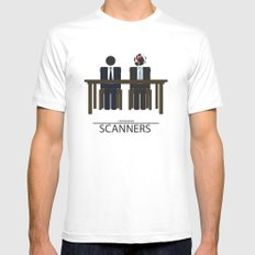 Scanners - Altenative Movie Poster SMALL Mens Fitted Tee White