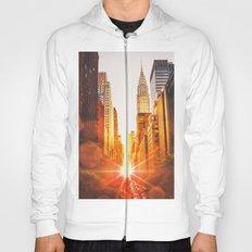 NYC Skyline Sunset Hoody