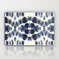 BOHEMIAN INDIGO BLUE Laptop & iPad Skin